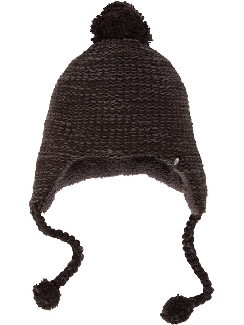 The North Face Fuzzy Earflap Beanie TNF Black/Asphalt Grey